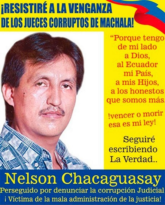Periodista Nelson Chakawasay