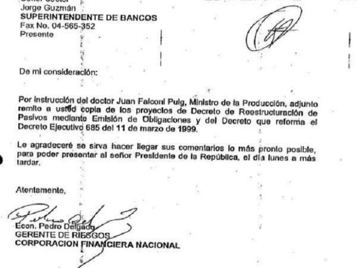 Pedro Delgado fue Presidente del Banco Central correista, Juan Falconí es embajador