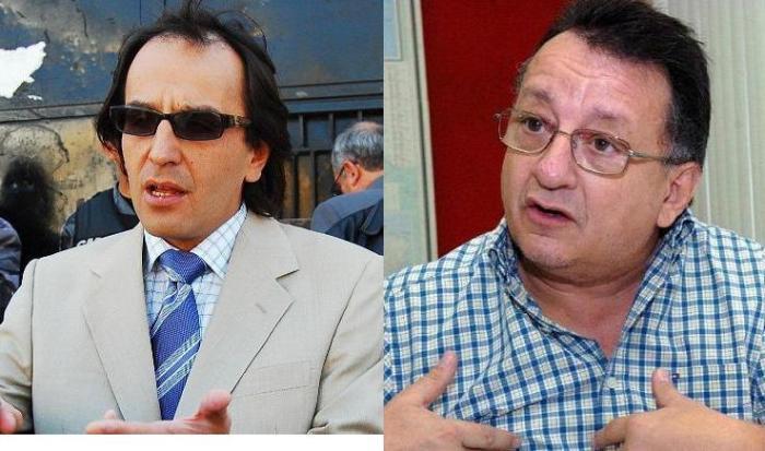 Pablo Guerrero y Emilio Palacio