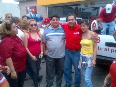 Nicolás Brito y Lucio Gutiérrez, en Guayaquil, 1 Sep 2012