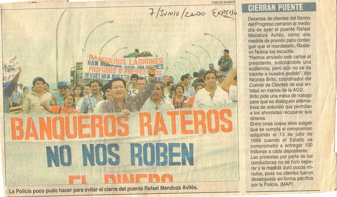 7 jun 2000 Toma del Puente