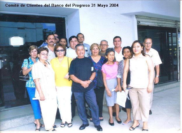 Comité Clientes Banco del Progreso 31 Mayo 2004