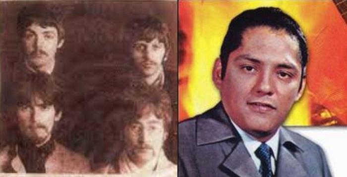 Los Beatles y Julio Jaramillo