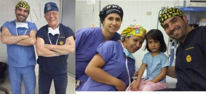 Dr. Pablo Salamea Molina.  Dr Jorge Palacios Martinez. Gabriela Herrera Brito. Bahía de Caráquez. 27 Junio 2014