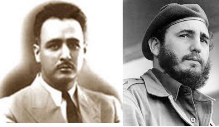 Rafael Díaz-Balart  y Fidel Castro