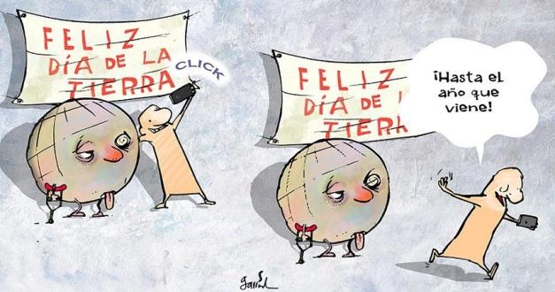 Caricatura de Garrincha-Dia-de-la-Tierra