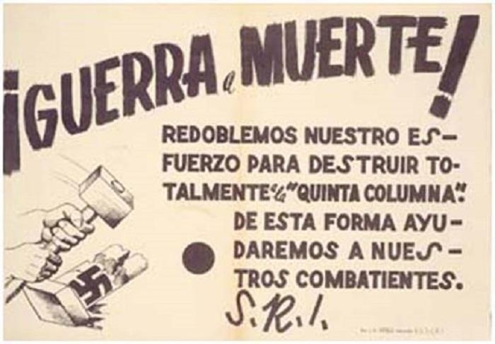 Publicación del S.R.I (Socorro Rojo Internacional) entre 1936 y 1939