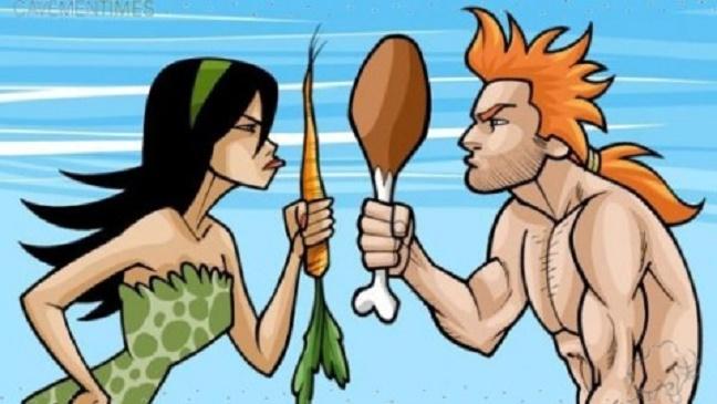 Imagen tomada de http://ecologiamistica.blogspot.com/2014/09/vegetarianos-vs-carnivoros-o-mejor.html
