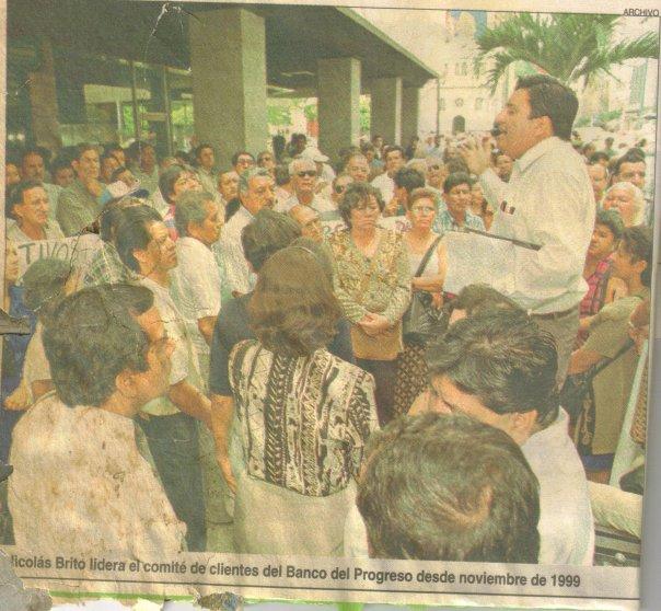 13 agosto 2000, diario Expreso