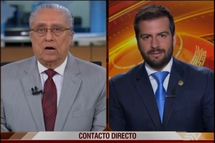 Alfredo Pinoargote y Pablo Arosemena