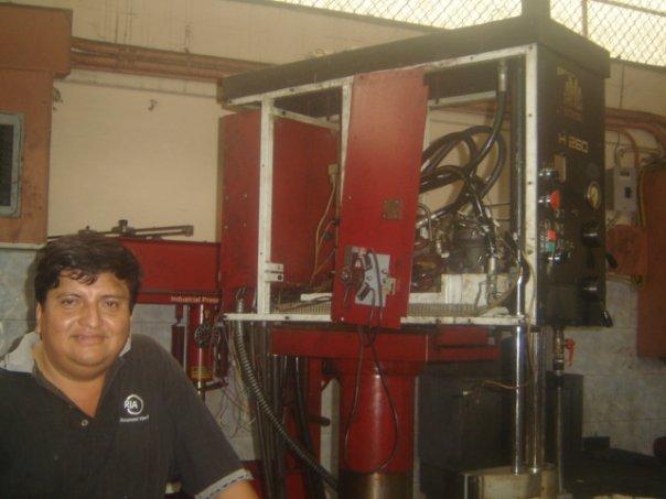 Pulidora de cilindros