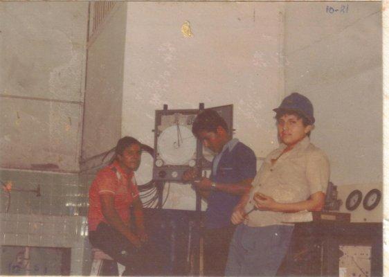 En el Ingenio San Carlos a comienzo de los años 80