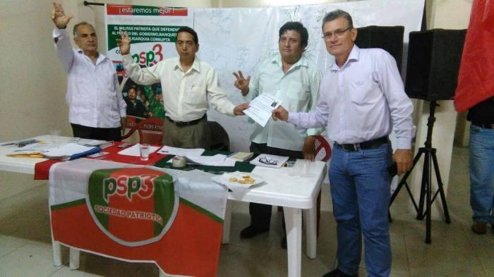 Reunión del 2 de septiembre en Guayas, entrega de reconocimiento por trabajo realizado