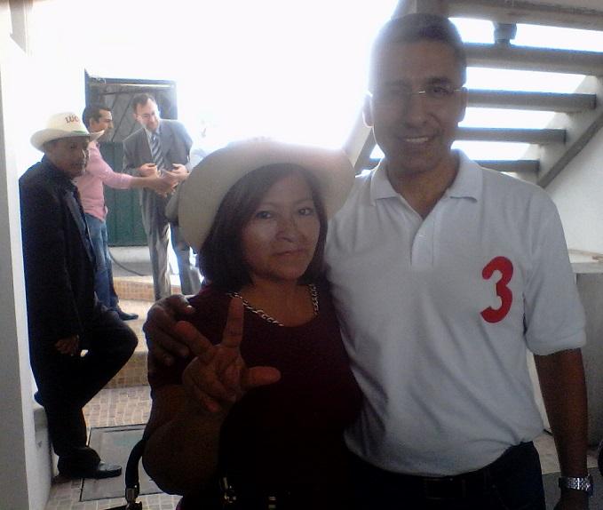 Teresita Lavayen, Gilmar Gutiérrez