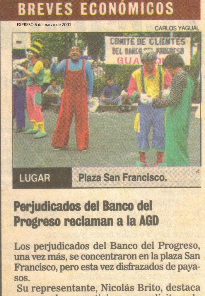 protesta-parque-san-francisco-6-marzo-2001-expreso