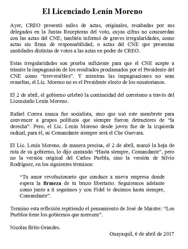 Lic Moreno